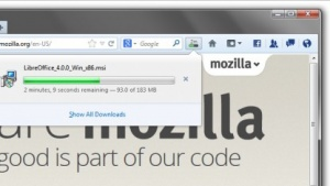 Neuer Downloadmanager in Firefox 20