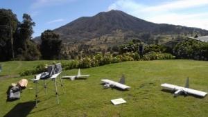 Drohnen RQ 14 Dragon Eye: Sensoren und Probeflaschen