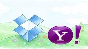 Yahoo integriert Dropbox in Webmailer.