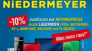 Filialschließungen: Cyberport-Kooperationspartner Niedermeyer ist insolvent