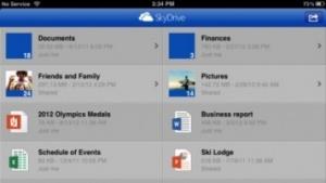 iOS-App für Skydrive
