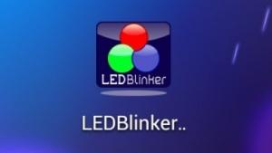 Mit LED Blinker kann das LED-Benachrichtigungslicht konfiguriert werden.