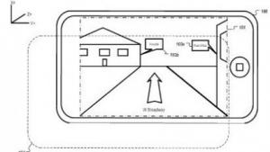Patentzeichnung: Sensoren des Gerätes nutzen