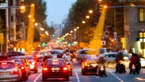 Car-to-X-Kommunikation mittles Straßenlampen