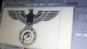 Reichsadler mit Piratenflagge: Rechte Gesinnung bei Funktionären der Jungen Piraten