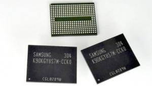 Der 128-GBit-Chip von Samsung
