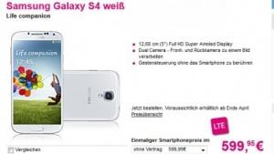 Samsung Galaxy S4: Bei der Telekom günstiger als bei der Konkurrenz