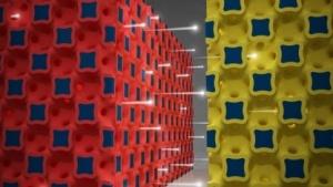 Akku mit Nanostruktur: kreditkartengroßes Mobiltelefon