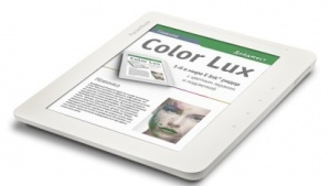 Pocketbook Color Lux: Folie dient als Farbfilter.