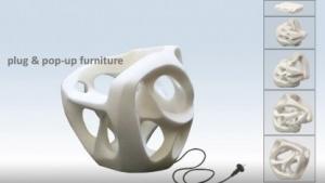 Stuhl aus Formgedächtnis-Polymer: unverständliche Anleitung