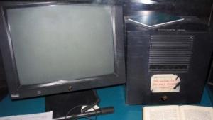 Tim Berner-Lees Rechner (am Cern): webartige Gebilde in der Hand von Konzernen