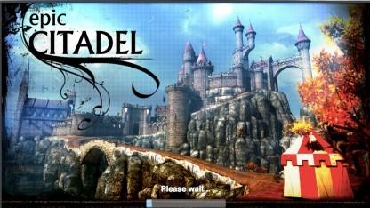 HTML5-Version der Demo Epic Citadel