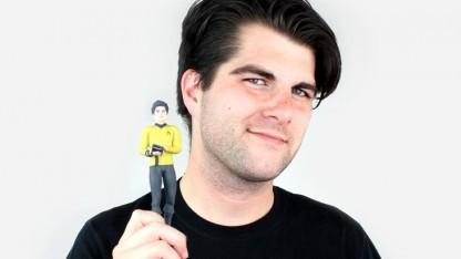 Star Trek 3D Me: Porträt meiner selbst als Mitglied der Sternenflotte