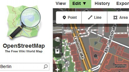 Openstreetmap verwendet nun neben Potlach 2 auch den neuen iD-Editor.
