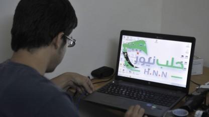 Syrischer Computernutzer (im Oktober 2012 in Aleppo): Mutmaßliche Beteiligung der Behörden