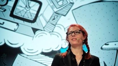 Roboterforscherin Kate Darling bei der Republica 2013