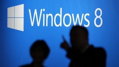 Launch von Windows 8 in New York im Oktober 2012