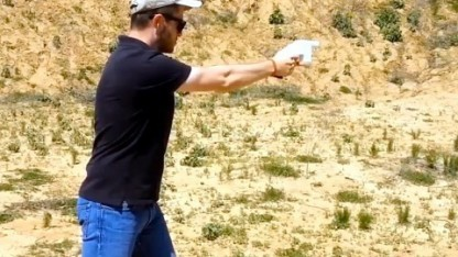 Cody Wilson mit Liberator: wüssten nicht, dass diese Waffen existieren, bis sie abgefeuert werden