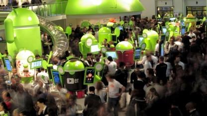 Android besticht durch geringe Absturzrate.