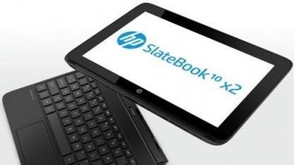 HP hat ein neues Android-4.2-Tablet mit Tastaturdock vorgestellt.
