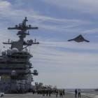 X-47B: Erster Katapultstart einer Drohne vom Flugzeugträger