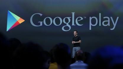 Hugo Barra auf der Google I/O 2013