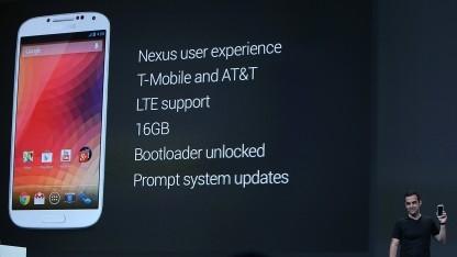 Googles Version des Galaxy S4