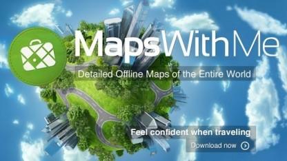 Maps With Me Pro heute gratis