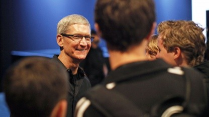 Apple-Chef Tim Cook auf der Apple Worldwide Developers Conference 2012 in San Francisco