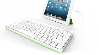logitech ipad tastatur mit kabel. Black Bedroom Furniture Sets. Home Design Ideas