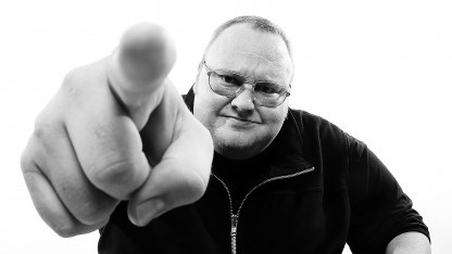 Kim Dotcom im April 2013