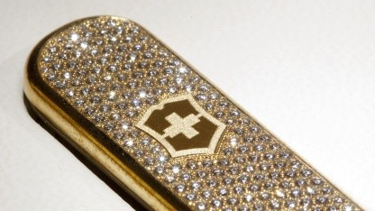 Victorinox-USB-Stick mit Diamanten