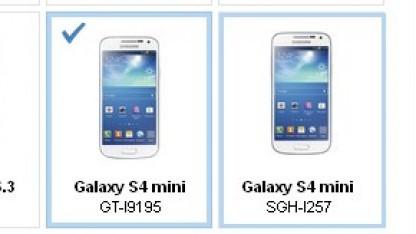 Das Samsung Galaxy S4 Mini ist in Samsungs App Store aufgetaucht.