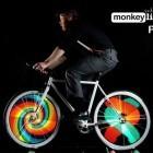 Monkey Light Pro: Bildschirm für die Speichen