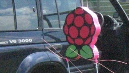 Raspberry Pi geht in die Luft