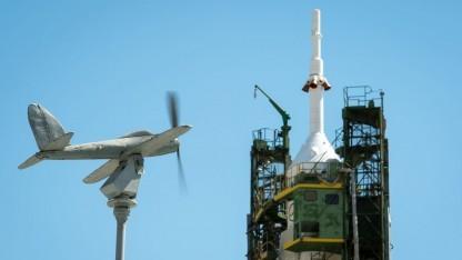 Sojus TMA-09M vor dem Start in Baikonur: ATV-4 Albert Einstein kommt Anfang Juni