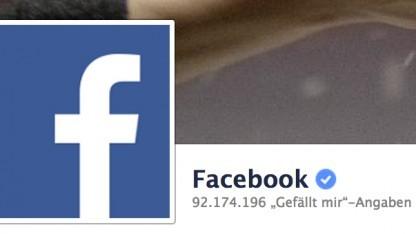 Die Facebook-Unternehmensseite