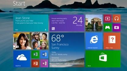 Neuer Startbildschirm von Windows 8.1