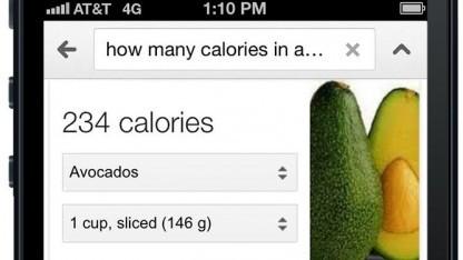 Nährwertangaben mit Google suchen