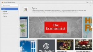 Chrome Packaged Apps im Chrome Webstore