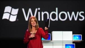 Tami Reller spricht über Windows Blue.