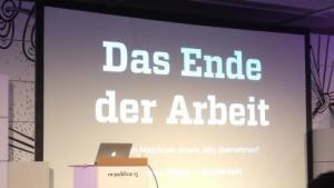 Eine Bühne auf der Re:publica 2013