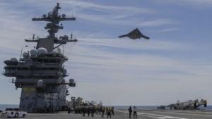 X-47B: Katapultstart an Land geprobt