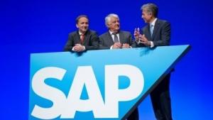 SAPs Führungsriege: Jim Hagemann Snabe (l.), Hasso Plattner und Bill McDermott (r.)