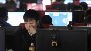 Internetcafé in China