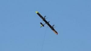 Airborne Wind Turbine: Fliegendes Kraftwerk gesellt sich zur Datenbrille.
