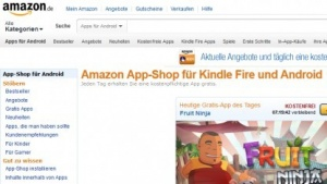 Amazons App-Shop im Browser
