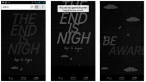 Chrome 28 Beta für Android mit Fullscreen-API