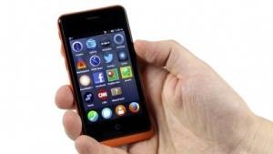 Auf dem Geeksphone Keon läuft Firefox OS in einer Vorabversion.