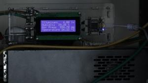 Wetterstation im Serverraum